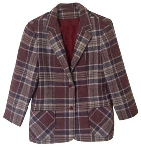 Country Suburbans by Country Miss Maroon, Tan, Navy Blue, White Blazer
