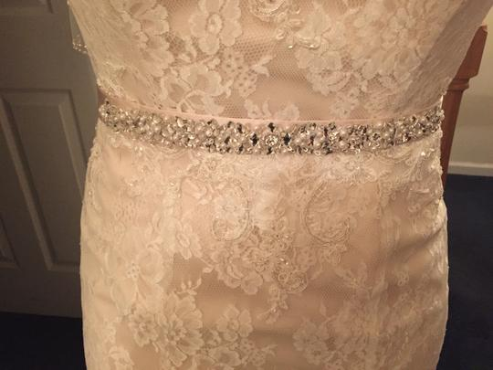 Casablanca Casablanca 2096 With Beaded Belt Wedding Dress