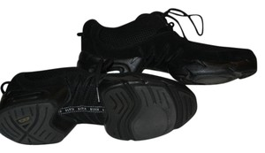 Bloch Sneakers Tennis Trainers Dance Zumba Black Athletic