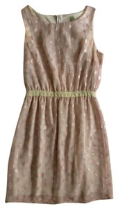 Peppermint short dress Light Pink Lace on Tradesy