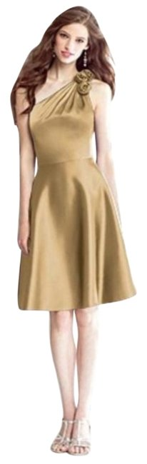 Item - Venetian Gold 8134 Mid-length Night Out Dress Size 10 (M)