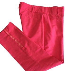 Anthropologie Capri/Cropped Pants Pink