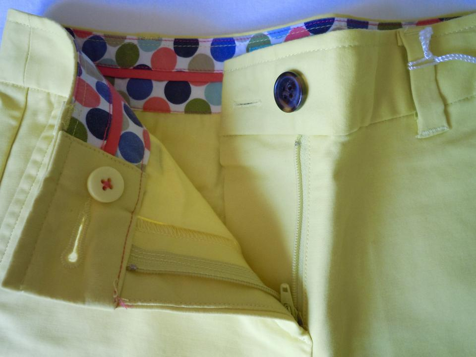 f75db9e43 Boden Yellow Coral Lot Pair Cuffed Amalfi Chino Shorts Size Petite 2 (XS)  63% off retail