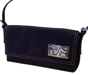 Fendi Navy Wristlet in Blue