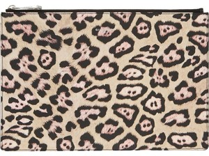 Givenchy Leopard Print Clutch