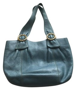 Capacci italy Tote in Sky Blue