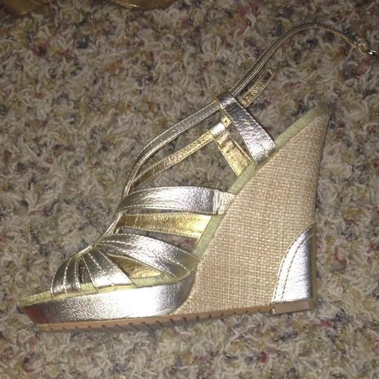 Charles David Gold Wedges