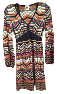 M Missoni Knit V-neck Italian Dress
