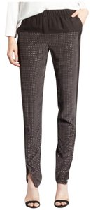 Halston Trouser Pants Charcoal