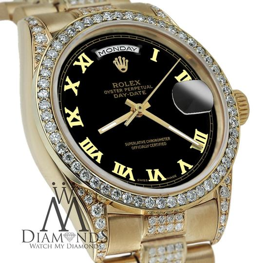 rolex yellow gold presidential day date 36mm dial diamond. Black Bedroom Furniture Sets. Home Design Ideas