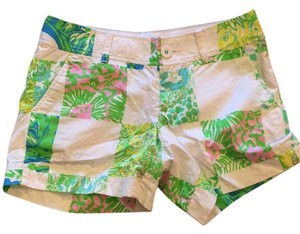 Lilly Pulitzer Mini/Short Shorts Lioness Patch