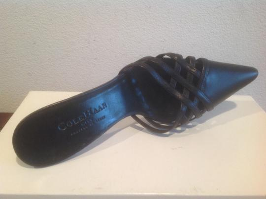 Cole Haan Crafted In Italy Black Mules