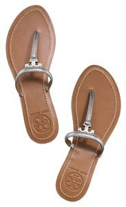 Tory Burch Silver metalic Sandals