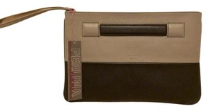 Perlina Valentina Clutch Black and grey Clutch