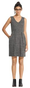 Madewell short dress Gray Knit Comfortable on Tradesy