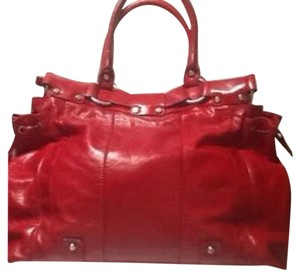 Francesco Biasia Satchel in Red