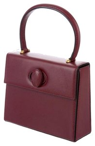 Cartier Satchel in Burgundy