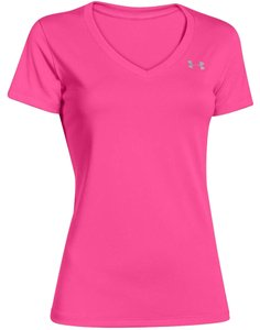 Under Armour T Shirt Pink