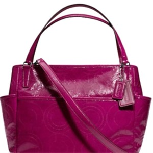 Coach Pink Diaper Bag