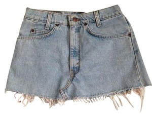 Urban Outfitters Summer Vintage Boho Bohemian Mini Skirt denim