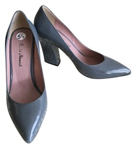 Sesto Meucci Grey Pumps