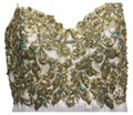 Riva Designs Sequin Sparkly Sweetheart Strapless Dress Image 0