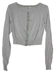 American Eagle Outfitters Cropped Beaded Cardigan