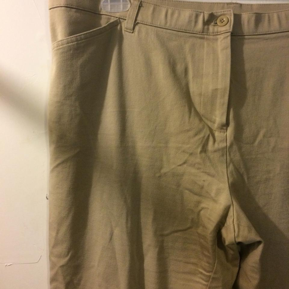 4213b169bd0 White Stag Relaxed Pants beige Image 3. 1234