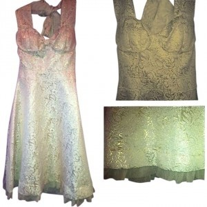 Vintage 50s Pinup Pin-up Halter Tulle 60s 40s Great Gatsby Dress