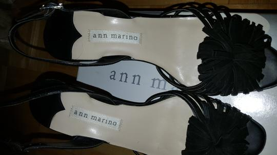 Ann Marino Black Sandals Image 2