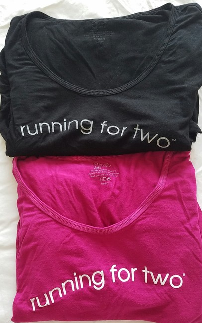 For Two Fitness For Two Fitness Maternity Shirt Image 2
