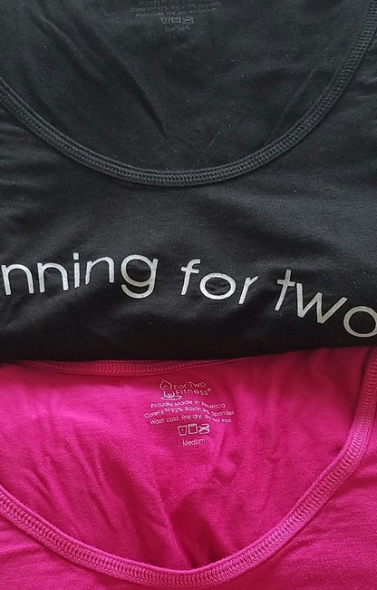 For Two Fitness For Two Fitness Maternity Shirt Image 3