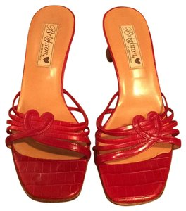 Brighton Red Mules