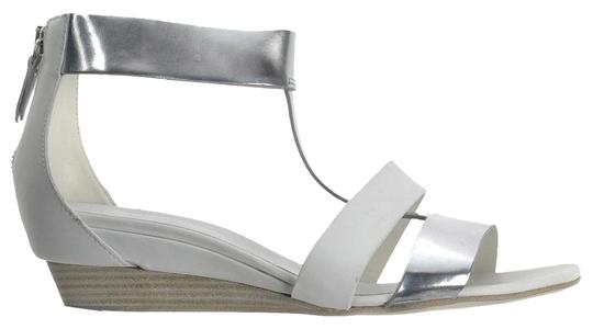 Preload https://img-static.tradesy.com/item/16048423/vic-matie-off-whitesilver-new-cutout-colorblock-wedge-sandals-size-eu-39-approx-us-9-regular-m-b-0-1-540-540.jpg