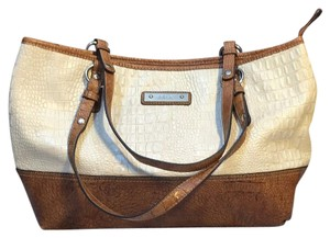 Relic Tote in Beige&cream