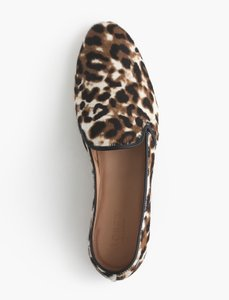 J.Crew Calf Hair Leather Flats