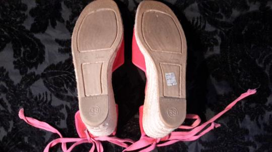 Anya Hindmarch Hot Pink Wedges