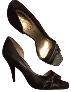 Jessica Simpson Heels Black Pumps