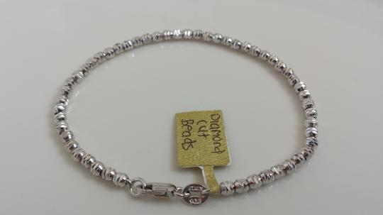 Preload https://item5.tradesy.com/images/silver-italy-925-sterling-beads-diamond-cut-bracelet-1604954-0-0.jpg?width=440&height=440