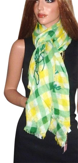 Preload https://item4.tradesy.com/images/juicy-couture-green-angel-check-large-fringe-shawlscarf-scarfwrap-1604978-0-1.jpg?width=440&height=440