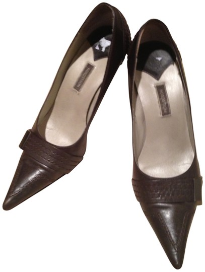 Nordstrom Expresso Brown Pumps