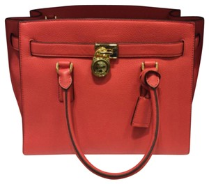 MICHAEL Michael Kors Satchel in Watermelon