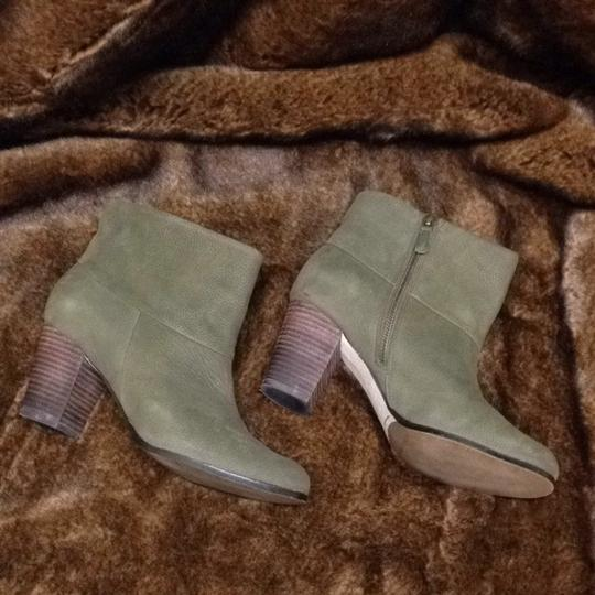 Cole Haan Green Boots