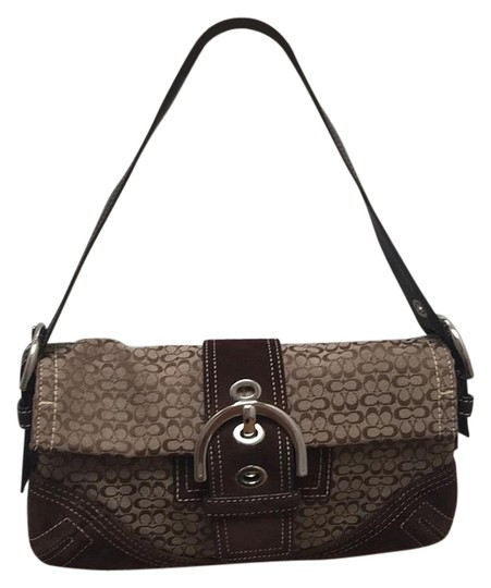 Preload https://img-static.tradesy.com/item/16049911/coach-brown-leather-and-canvas-baguette-0-1-540-540.jpg