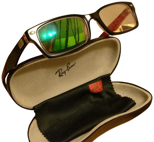 Preload https://item1.tradesy.com/images/ray-ban-black-with-redwhite-rx5206-sunglasses-160500-0-0.jpg?width=440&height=440