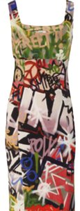graffetti Maxi Dress by Moschino