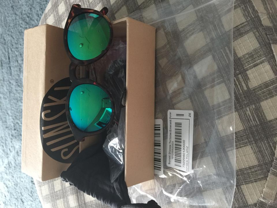 654af074bf Emerald and Tortoise Dipsea Sunglasses - Tradesy