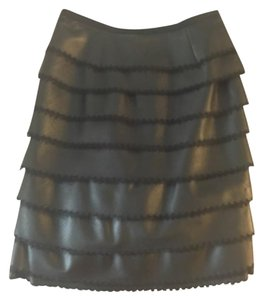 Nina Ricci Skirt Real leather black