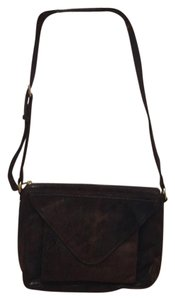 Lauren Merkin Brown Messenger Bag