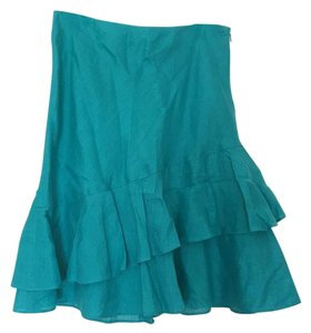 Ann Taylor Skirt Teal